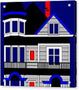 1080 Haight Street Acrylic Print