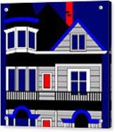 1080 Haight Street Acrylic Print by Asbjorn Lonvig
