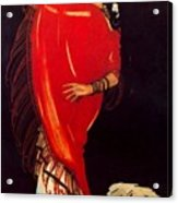 12215 Rafael De Penagos Acrylic Print