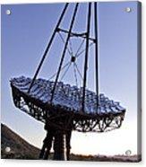 12m Gamma-ray Reflector Telescope Acrylic Print