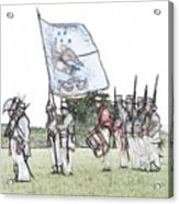 1812 Soldiers Acrylic Print