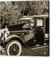 1924 Buick Duchess Antique Vintage Photograph Fine Art Prints 10 Acrylic Print