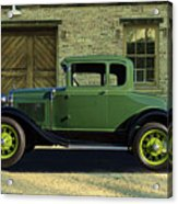 1930 Ford Model A Roadster Acrylic Print