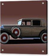1932 Classic Buick 4 Door Sedan Acrylic Print