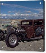 1932 Chevrolet Rat Rod Acrylic Print
