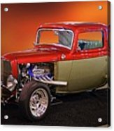1932 Ford 'three Window' Coupe Acrylic Print