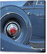 1937 Packard Automobile Acrylic Print