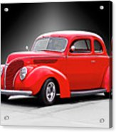1938 Ford Five-window Coupe II Acrylic Print