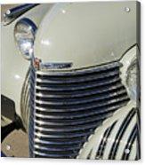 1940 Cadillac 60 Special Sedan Grille Acrylic Print