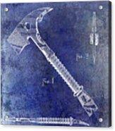 1940 Fireman Ax Patent Acrylic Print