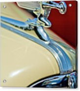 1940 Packard Hood Ornament Acrylic Print by Jill Reger