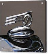 1952 Triumph Renown Limosine Radiator Cap Acrylic Print