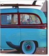 1954 Pontiac Chieftain Station Wagon Acrylic Print