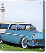 1956 Chevrolet Bel Air Nomad Wagon Acrylic Print