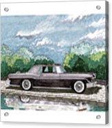 1956  Lincoln Continental Mk II Acrylic Print
