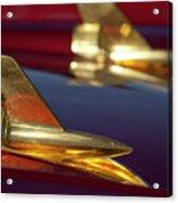 1957 Chevrolet Hood Ornament Acrylic Print