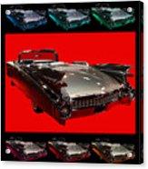 1959 Cadillac Eldorado Convertible . Wing Angle Artwork Acrylic Print