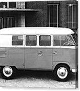 1960 Volkswagon Microbus Acrylic Print