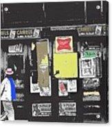 1960's Cigarette Beer Ads Meyer Avenue Barrio Tucson Arizona 1968-2011 Acrylic Print