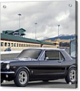 1966 Ford Mustang Coupe II Acrylic Print