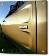 1968 Dodge Charger Hemi Acrylic Print