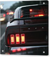 1969 Ford Mustang Mach 1 Acrylic Print