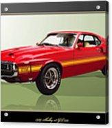 1969 Shelby V8 Gt350  Acrylic Print