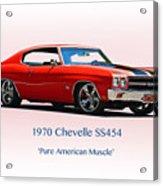 1970 Chevelle Ss454 Acrylic Print