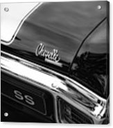 1970 Chevrolet Chevelle Ss 396 Acrylic Print