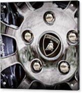 1997 Lamborghini Diablo Roadster  Wheel Emblem -1303ac Acrylic Print