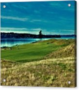#2 At Chambers Bay Golf Course Acrylic Print