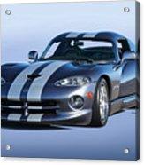 2000 Dodge Viper Vs1 Coupe Acrylic Print