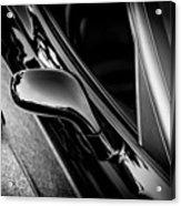 2002 Corvette Ls1 Painted Bw Acrylic Print