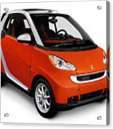 2008 Smart Fortwo City Car Acrylic Print
