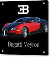 2010 Bugatti Veyron Acrylic Print