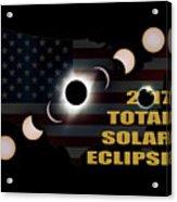 2017 Total Solar Eclipse Across America Acrylic Print