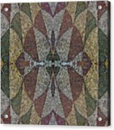 21970. Mosaic Rhythm Of Roman Baths. Acrylic Print