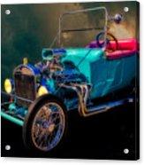 23 T Hot Rod In The Sky Acrylic Print