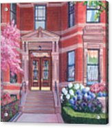238 Marlborough Street Acrylic Print