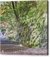 Road To Emmaus Acrylic Print