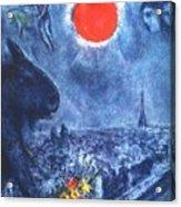 4dpictdswq Marc Chagall Acrylic Print