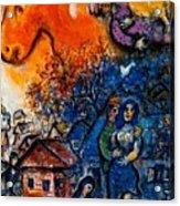 4dpictfdrew3 Marc Chagall Acrylic Print