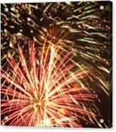 4th Of July Fireworks Acrylic Print by Joe Carini - Printscapes