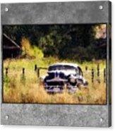53 Pontiac Acrylic Print