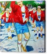 610 Stompers Acrylic Print by Terry J Marks Sr