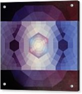 #65 Violet Field Acrylic Print