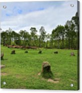 9 Ladies Stone Circle, Stanton Moor, Peak District National Park Acrylic Print