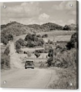 A Country Ride Acrylic Print