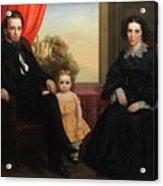 A Family Group Acrylic Print