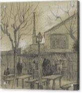A Guinguette Paris, February - March 1887 Vincent Van Gogh 1853 - 1890 Acrylic Print